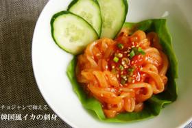 韓国風*イカの刺身 ~チョジャン和え~