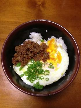 絶品!手作り肉味噌で作る「大森靖子丼」