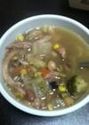 コストコのロティサリーチキンのスープ