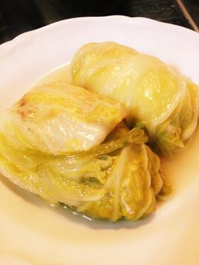 ダイエット夕食25日目ロール白菜