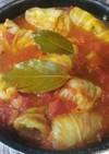 トマト煮込み絶品ロールキャベツ♪分量簡単
