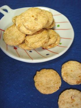 おからクッキー *エビマヨ七味味*