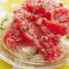 ダブルトマトとツナのイタリアンそうめん