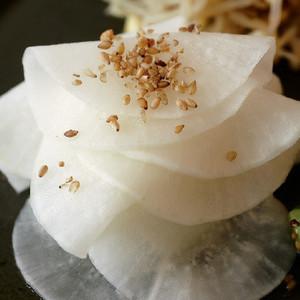 大根の酢ナムル