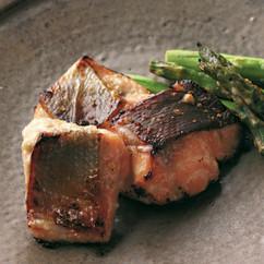 鮭のゆずこしょう塩麹焼き