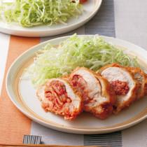 鶏胸肉のキムチサンドフライ