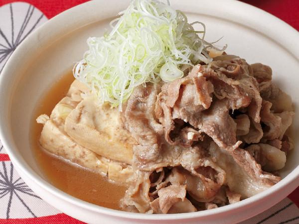 あっさり肉豆腐