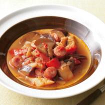 なすのラタトゥイユ風スープ煮