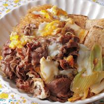 牛肉と焼き豆腐のすき煮