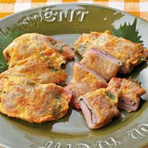 豚肉のハムサンドピカタ
