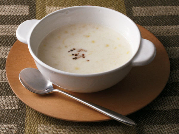 つぶつぶポテトスープ