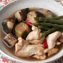 鶏胸肉となすの南蛮煮