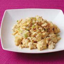 豆腐のねぎ塩炒め