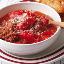 ひき肉とトマトのミートソース風