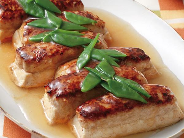 鶏ひき豆腐の和風あんかけ