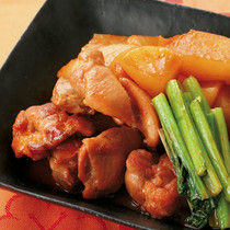 鶏肉と大根のコチュジャン煮