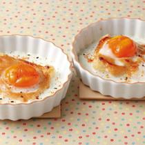 油揚げと卵のみそマヨ焼き