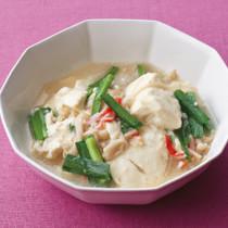 豆腐とえのきの中華煮