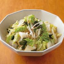 白菜とわかめのチョレギサラダ