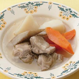 鶏ももと春根菜のポトフー