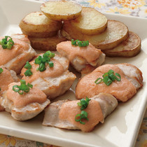 鶏肉の明太マヨ焼き