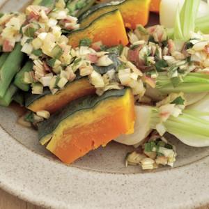 3種の和風蒸し野菜サラダ