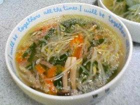 たっぷり野菜のスープ♪