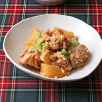 鶏肉と大根の香味野菜煮