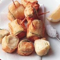 ズッキーニのチーズフリット