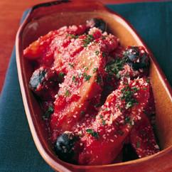 ごぼうのトマト煮 プロバンス風