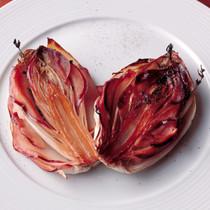 チコリと紅玉のキャラメリゼ