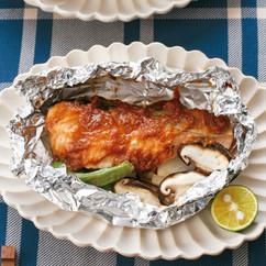 鮭のごまみそ焼き