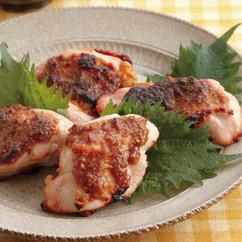 鶏肉のごまみそ焼き