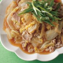 白菜と豚肉の中華風うま煮