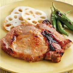 豚肉と野菜のはちみつみそグリル