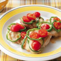 鶏肉のピザ風ソテー