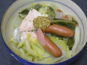 白菜の重ね蒸し