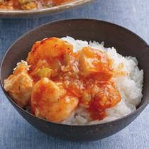 えびチリ豆腐