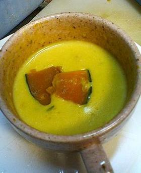 レンジで☆かぼちゃスープ