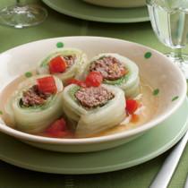 ロール白菜のスープ煮