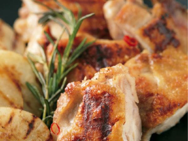 鶏肉とじゃがいものグリル