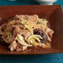 白菜と豚バラの韓国風炒め
