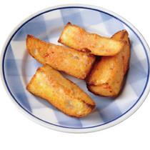 トマト風味のガーリックトースト