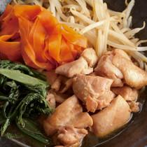 鶏肉とたっぷり野菜のすき煮