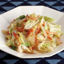 白菜と桜えびの中華風炒め