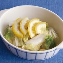 白菜のレモン風味ピクルス