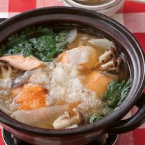 大根と鮭のおろし鍋