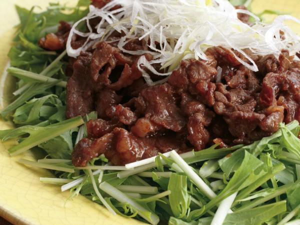牛肉の中華風みそ炒め