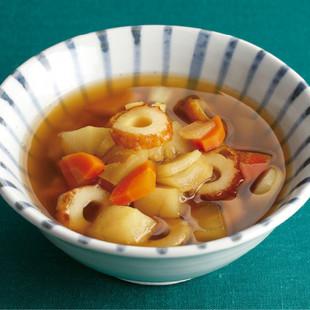 具だくさん和風カレースープ