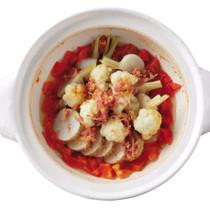 冬野菜のトマト蒸し鍋